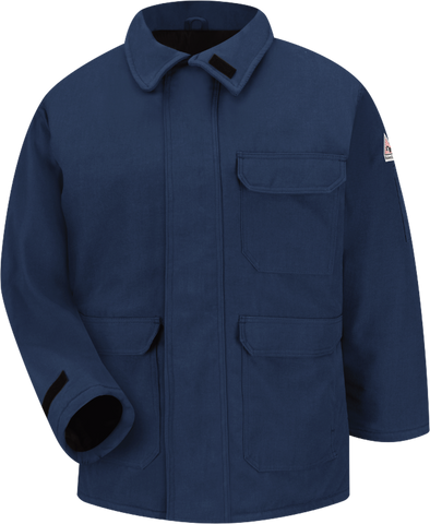 BULWARK HEAVYWEIGHT NOMEX FR INSULATED DELUXE PARKA - MEN'S - NAVY - JNP2NV