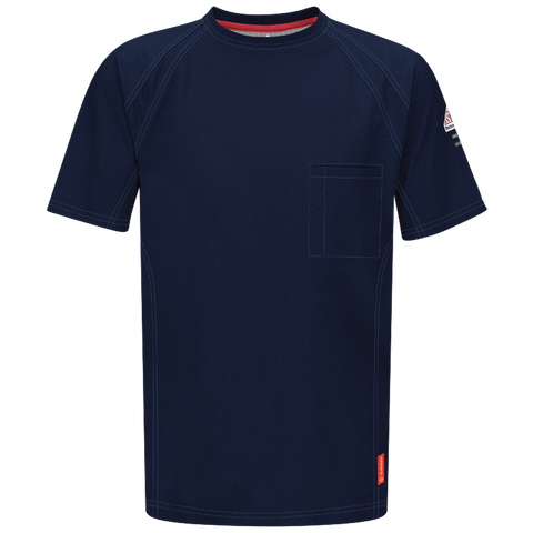 BULWARK iQ SERIES® COMFORT KNIT FR SHORT SLEEVE T-SHIRT - MEN'S - MULTIPLE COLORS - QT30