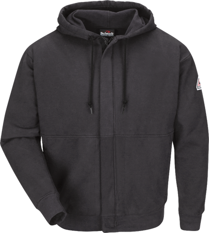 BULWARK FLEECE FR ZIP-FRONT HOODED SWEATSHIRT - MEN'S - MULTIPLE COLORS - SEH4