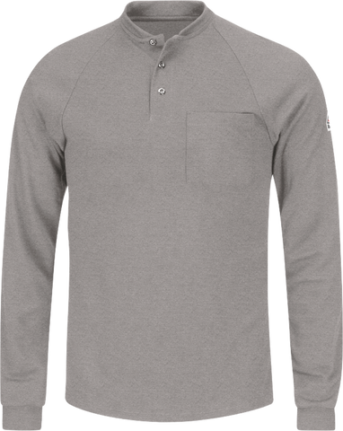 BULWARK LIGHTWEIGHT FR HENLEY - MEN'S - MULTIPLE COLORS - SML2