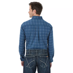 WRANGLER® FR LONG SLEEVE BUTTON DOWN PLAID SHIRT - MEN'S - MULTIPLE COLORS - FR133RB