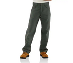 CARHARTT FR LOOSE FIT MIDWEIGHT CANVAS PANT - MEN'S - MOSS - FRB159
