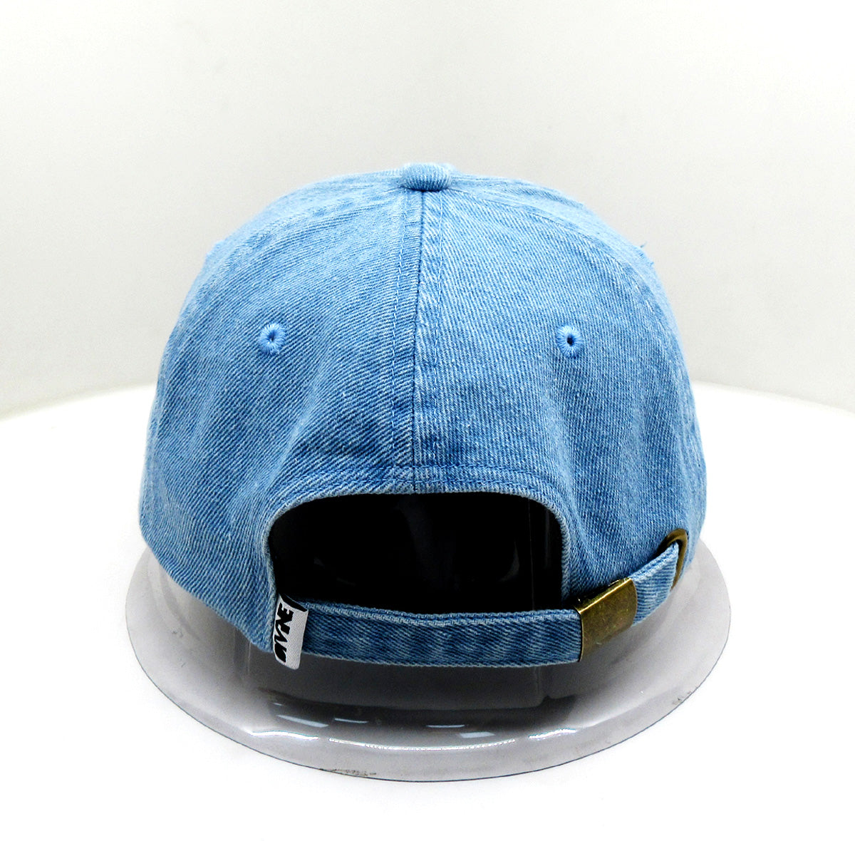 DF Blue Jean Distressed Dad Hat