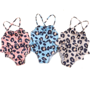 Leopard Swimsuit - Cozy N Cute Kids Boutique