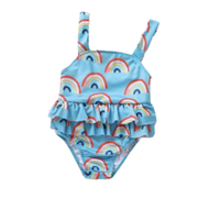 Rainbow Swimsuit - Cozy N Cute Kids Boutique