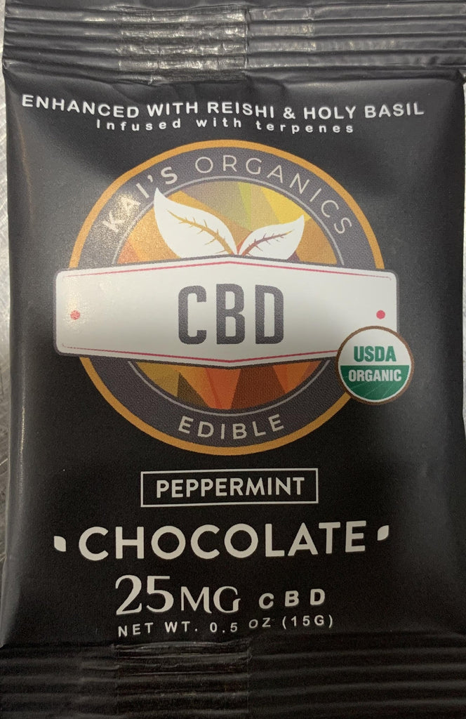 CBD Peppermint Chocolate