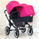 Bugaboo® Donkey Duo (Hot Pink)