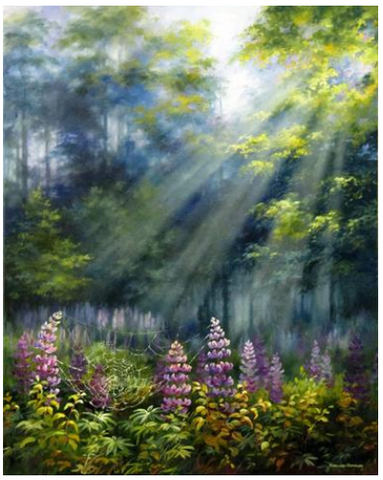 varvara harmon original oil of lupines