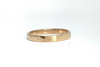 Perfectly Puddled: 14k Narrow Textured Band, Sizes 4.5-7.5