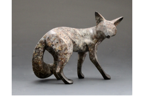 Bronze Fox by Michael Tatom