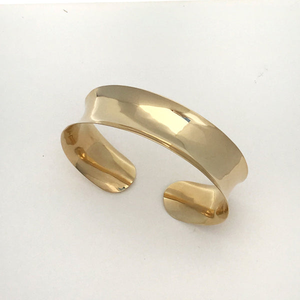 Channel Gold Bracelet 19mm