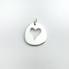 My Valentine: Sterling Silver Heart Pendant