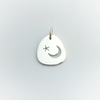 Moon and Star: Sterling Silver Pendant