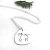 Elephant: Sterling Silver Pendant
