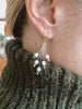 Spray of Pearl: 14k Gold Earrings