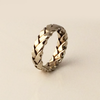 Celtic: 14k Braided 5.5mm Ring Size 4.5-7.5