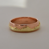 Eternal Mountain Range: 14k Two-Toned Ring, Sizes 4.5-7.5