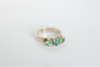 Kezar Lake: Maine Tourmaline and White Gold Ring