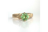 Eastman Hill: Maine Mint Green Tourmaline Yellow Gold Ring