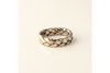 Celtic: 14k Braided Ring, Sizes 4.5-7.5