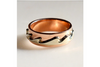 Coastal Wave: 14k Two-Toned Ring, Sizes 4.5-7.5