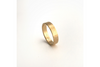 Perfectly Puddled: 14k Medium Textured Band, Sizes 8-11