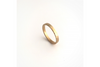 Perfectly Puddled: 14k Narrow Textured Band, Sizes 8-11