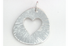 Radiant Heart: Sterling Silver Pendant