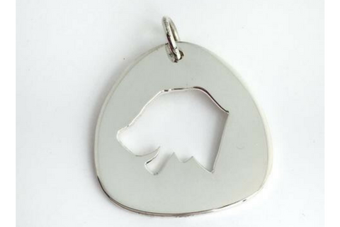Dog: Sterling Silver Pendant