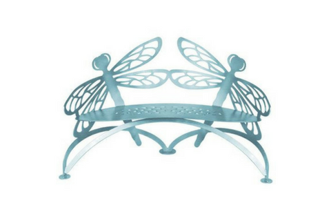 Dragonfly Bench by Cricket Forge Metal Works