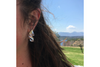 Sail: Sterling Silver Anticlastic Earrings