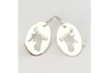 Moose: Sterling Silver Earrings