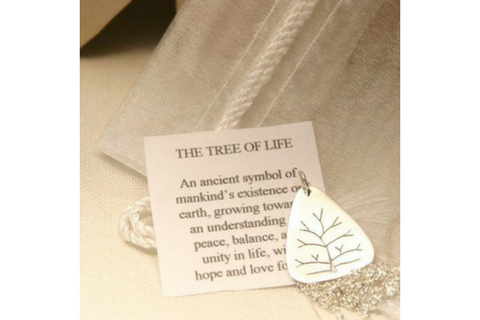 Tree of Life: Sterling Silver Pendant Small