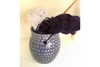 Periwinkle Knitting Bowl By Lacey Pots Pottery