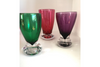 Purple Zug Glass Shot Glass