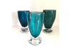 Light Blue Zug Glass Shot Glass