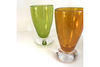 Green Glass Cordial Glass