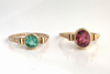 Pink Sky: Maine Pink Tourmaline 14k Solid Gold Ring