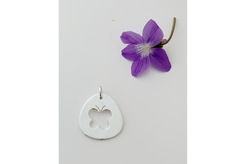 Butterfly: Pendant in Sterling Silver