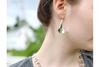 Peony Petal: Sterling Silver Earrings