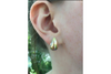 Tears of Gold Earrings in 14k Yellow Gold