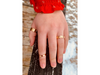Eternal Mountain Range: 14k Two-Toned Ring, Sizes 8-11