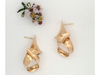 Sail: 14k Gold Anticlastic Earrings