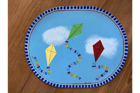 Kite #1 Placemat by Sandra Smith