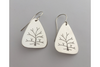 Tree of Life: Sterling Silver Earrings Large