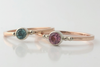 Lady Slipper: Maine Pink Tourmaline 14k Gold Ring