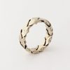 Intertwined: Braided 8mm Ring Size 8-11.5