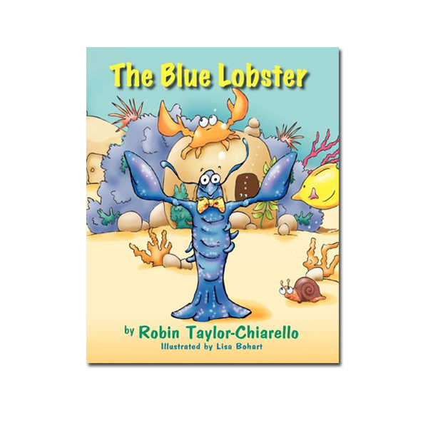 The Blue Lobster by Robin Taylor Chiarello