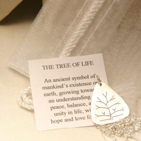 Small Tree of Life Sterling Silver Pendant