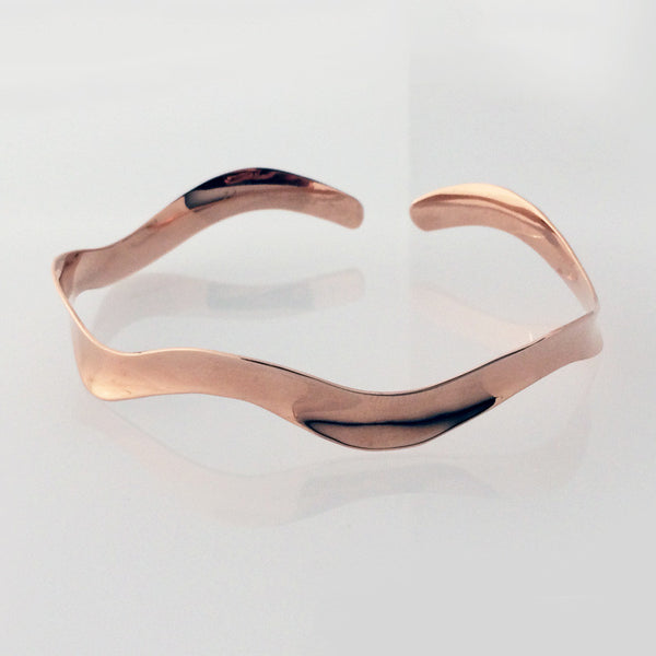 Kezar Lake Rose Gold Bracelet 6mm